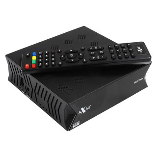 Axas HIS Twin E2 Linux H.265 HEVC W-LAN HD 1080p DVB-S2...