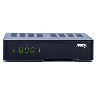 Apebox S2 Full HD 1080p H.265 LAN Kartenleser DVB-S2 Sat Multimedia IPTV Receiver