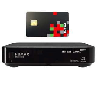HUMAX TN8000HD Sat Receiver FULL HDTV Ethernet mit TNTSAT...
